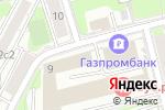 Схема проезда до компании Фокс Групп в Москве