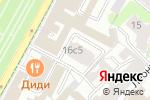 Схема проезда до компании Сосед в Москве