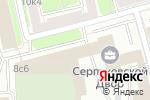 Схема проезда до компании Absen в Москве