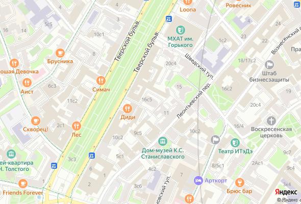 жилой комплекс Тверской бульвар, 16