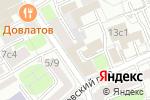 Схема проезда до компании Сквер в Москве