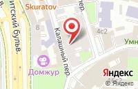 Схема проезда до компании Спринт в Москве