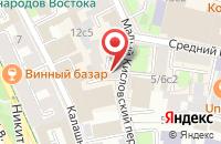 Схема проезда до компании За Права Человека в Москве