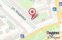 Схема проезда до компании Вивалди в Москве