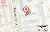 Схема проезда до компании Раст-Медиа в Москве