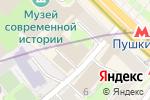 Схема проезда до компании Scandinavia в Москве