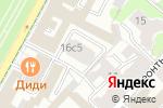 Схема проезда до компании iTech Capital в Москве