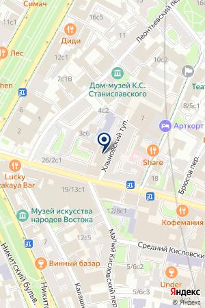 ИНФОРМАЦИОННОЕ АГЕНТСТВО МФД-ИНФОЦЕНТР на карте Москвы