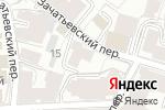 Схема проезда до компании SYNERGY в Москве