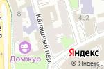 Схема проезда до компании Virginia в Москве