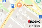 Схема проезда до компании Мужской зал в Москве