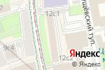 Схема проезда до компании Shar Travel в Москве
