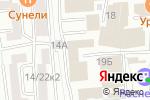 Схема проезда до компании Первый строительный трест в Москве