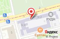 Схема проезда до компании Инновационный Научно-Правовой Центр в Москве