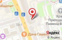 Схема проезда до компании Эолия в Москве