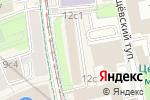 Схема проезда до компании Аудит Бизнеса в Москве