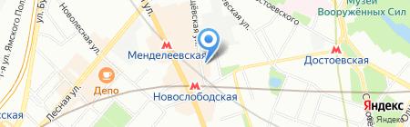 Картаж Плюс на карте Москвы