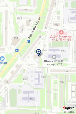 ПОЛЮС-91 ДЕЗ БИБИРЕВО на карте Москвы
