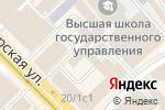 Схема проезда до компании Mi Piace в Москве