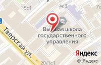 Схема проезда до компании СтройИнтеллектГруп в Москве