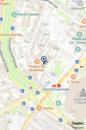 КБ АГРОХИМБАНК на карте Москвы
