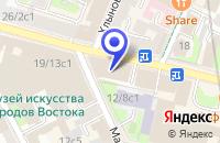 Схема проезда до компании АКБ КИТ ФИНАНС в Москве