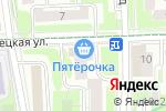 Схема проезда до компании Все для рукоделия в Москве