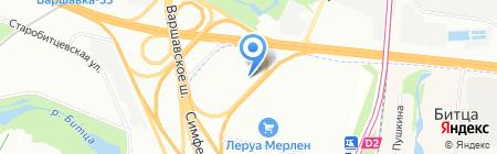 Дом СВ на карте Москвы