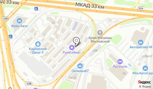 Дом СВ. Схема проезда в Москве