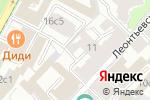 Схема проезда до компании Архстройдизайн в Москве