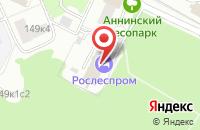 Схема проезда до компании Литтера в Москве