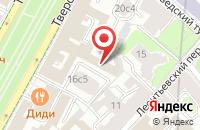 Схема проезда до компании Международная Академия Бизнеса в Москве