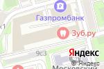 Схема проезда до компании Ю.Н.И.К.А. в Москве