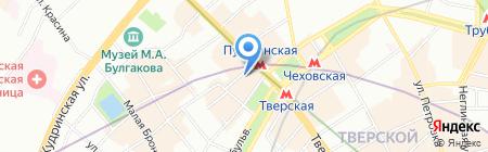 ВИКИНГ на карте Москвы