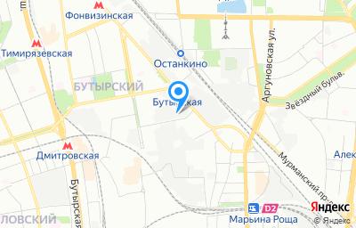Местоположение на карте пункта техосмотра по адресу г Москва, проезд Огородный, д 9 стр 1