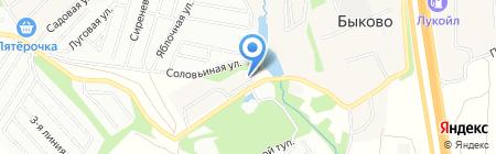Борисовка 2 на карте Стрелково