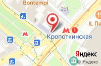 Схема проезда до компании Практика в Москве