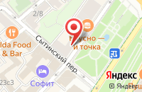 Схема проезда до компании Рик в Москве