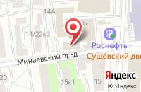 Схема проезда до компании Профтехкапитал в Москве