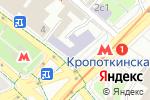 Схема проезда до компании Alphega в Москве