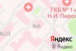 Схема проезда до компании Медсервис/Диагностика+ в Москве