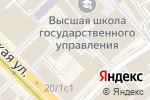 Схема проезда до компании Агентство Бизнес-Инноваций в Москве