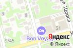Схема проезда до компании Bon Voyage в Туле