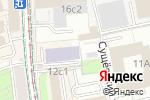Схема проезда до компании Колизей Арт в Москве