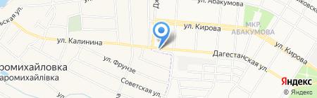 Семейный квартал на карте Донецка