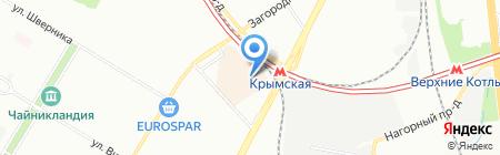 Эльбор на карте Москвы