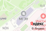 Схема проезда до компании Московский гуманитарно-экономический институт в Москве