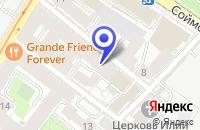 Схема проезда до компании ПРОЕКТНАЯ ФИРМА ТЕХНЕФТЕХИМ в Москве