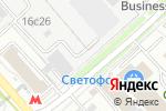 Схема проезда до компании Вертакс в Москве