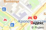 Схема проезда до компании Ameli flora в Москве
